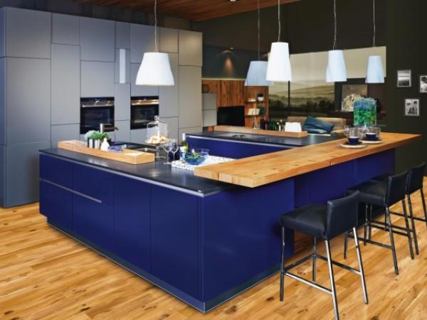 Vida quarz / ultramarinblau © ewe Küchen