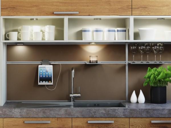 FM Küche mit Funktions-Rückwand © FM Küchen
