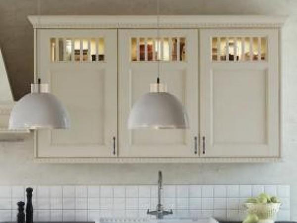 Glasschränke mit Sprossenunterteilung - FM Kirchbach © FM Küchen